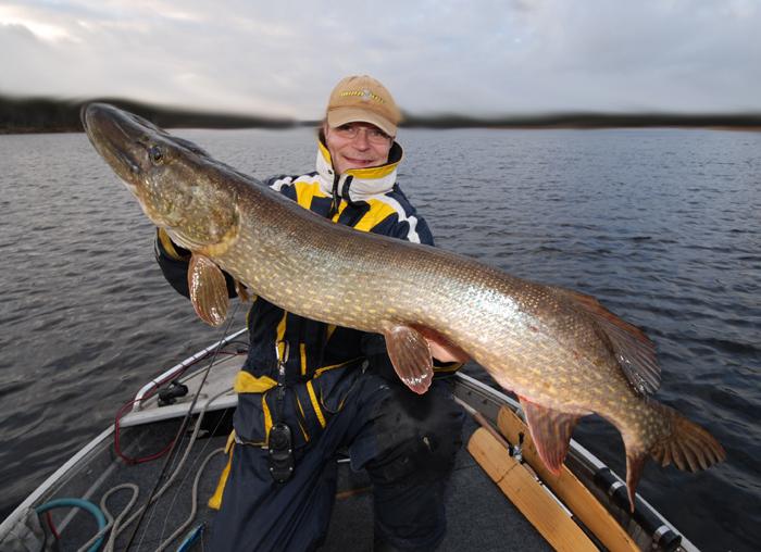 Nille med fin gädda... www.fishguide.se