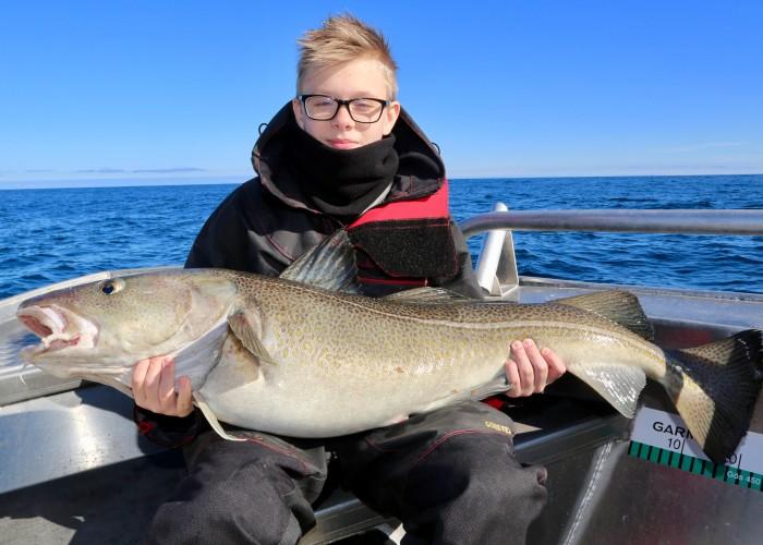 Havsfiskeäventyret på Söröya