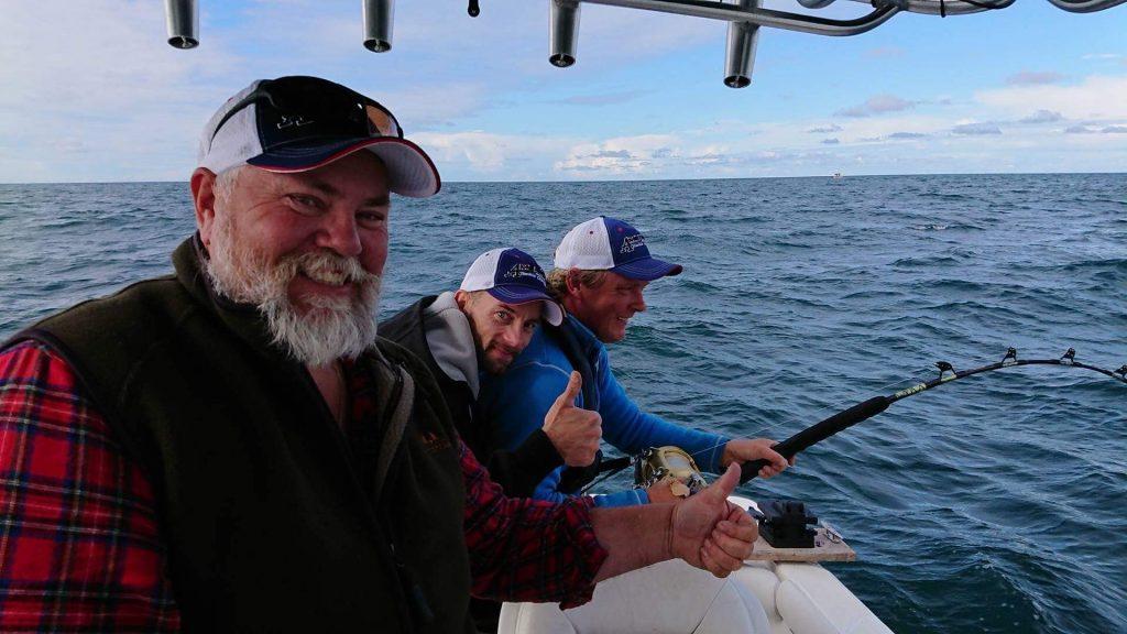 Tonfiskprojektet 2017 med Ralph Bengtsson och Team Laholm Henrik Persson och Christer Hjälmefjord